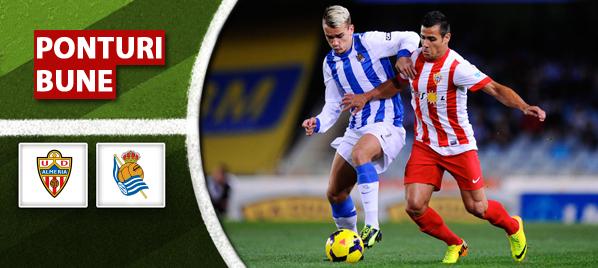 Almeria vs Real Sociedad – Primera Division – Analiza si pronostic
