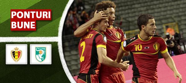 Belgia vs Coasta de Fildes – Amical – Analiza si pronostic