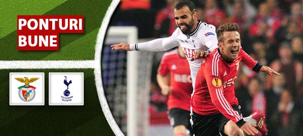 Benfica vs Tottenham – Europa League – Analiza si pronostic