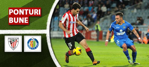 Bilbao vs Getafe – Primera Division – Analiza si pronostic