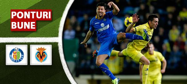 Getafe vs Villarreal – Primera Division – Analiza si pronostic