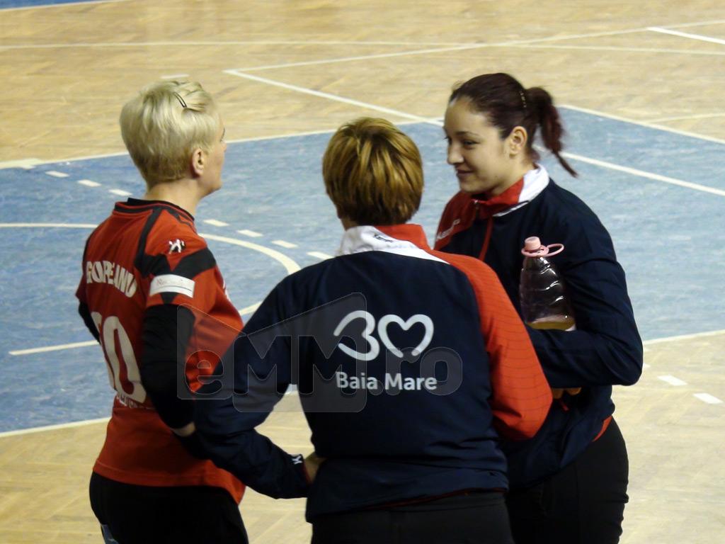 Zvon privind o partida de handbal feminin din Romania