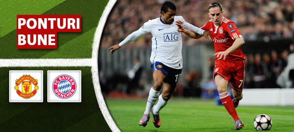 Manchester United vs Bayern Munchen – Liga Campionilor – Analiza si pronostic