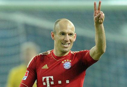 Robben ramane la Bayern