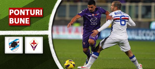 Sampdoria vs Fiorentina – Serie A – Analiza si pronostic