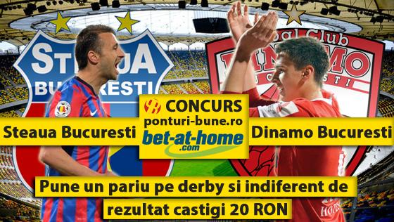 Steaua – Dinamo : Toata lumea castiga!