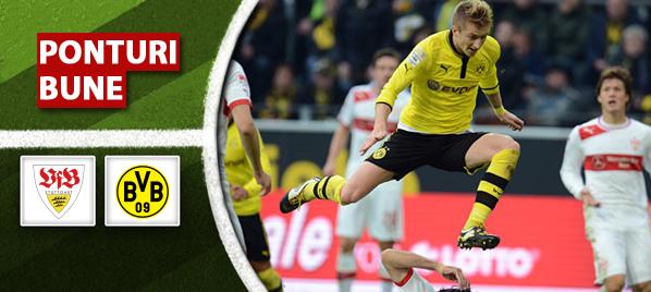 Stuttgart vs Dortmund – Bundesliga – Analiza si pronostic