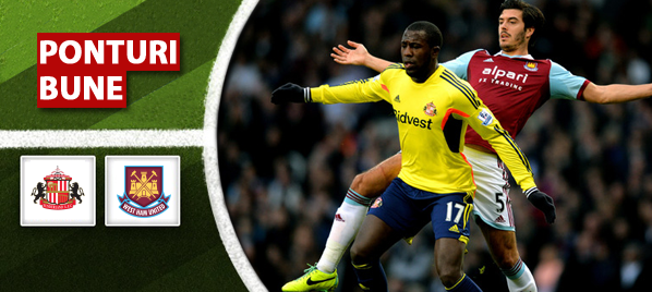 Sunderland vs West Ham – Premier League – Analiza si pronostic