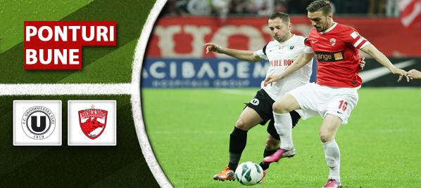 U Cluj vs Dinamo – Liga 1 – Analiza si pronostic