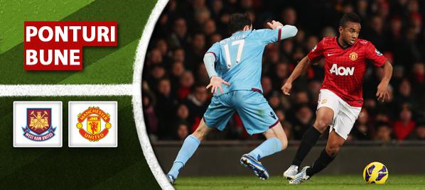 West Ham vs Manchester United – Premier League – Analiza si pronostic