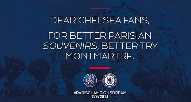 PSG, ironică cu Chelsea