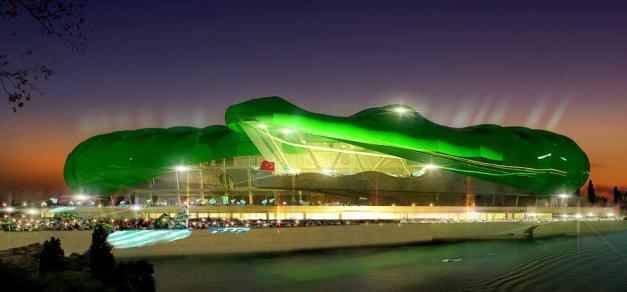 Stadion în formă de crocodil pentru Bursaspor!