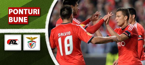 Alkmaar vs Benfica – Europa League – Analiza si pronostic