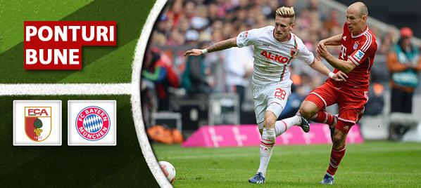 Augsburg vs Bayern – Bundesliga – Analiza si pronostic
