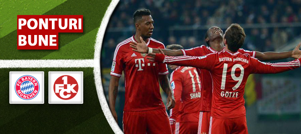 Bayern vs Kaiserslautern – Cupa Germaniei – Analiza si pronostic