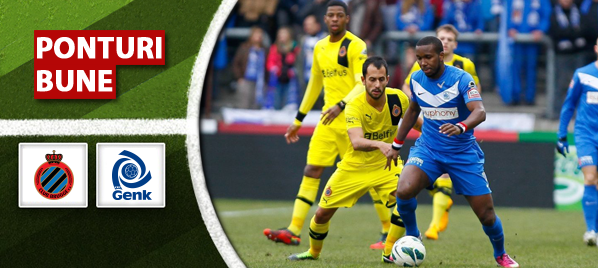 Club Brugge vs Genk – Jupiler League – Analiza si pronostic