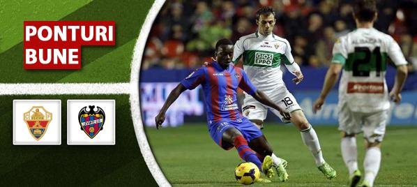 Elche vs Levante – Primera Division – Analiza si pronostic