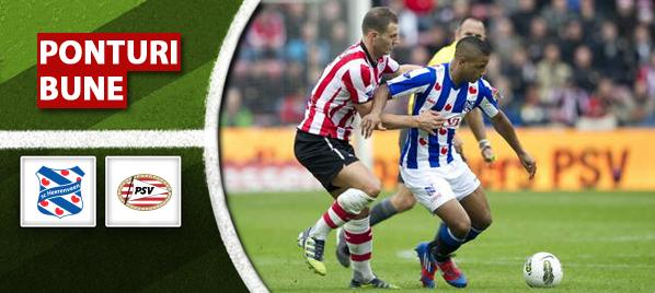 Heerenveen vs PSV – Eredivisie – Analiza si pronostic