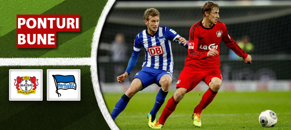 Leverkusen vs Hertha – Bundesliga – Analiza si pronostic