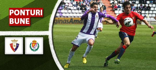 Osasuna vs Valladolid – Primera Division – Analiza si pronostic