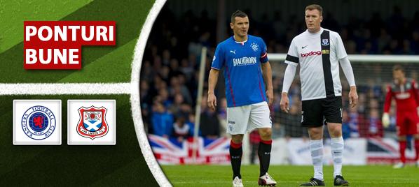 Rangers vs Ayr – Scotia – Analiza si pronostic