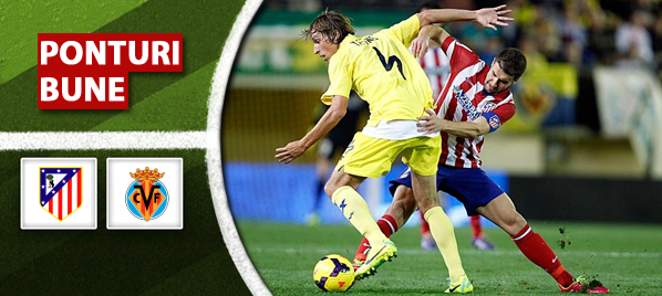 Atletico Madrid vs Villarreal – Primera Division – Analiza si pronostic