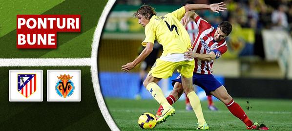 Atletico Madrid vs Villarreal – Primera Division – Analiza si pronostic