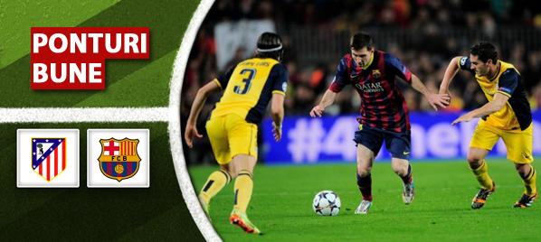 Atletico Madrid vs Barcelona – Liga Campionilor – Analiza si pronostic
