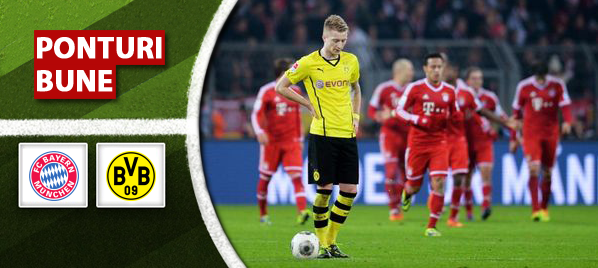 Bayern Munchen vs Borussia Dortmund – Bundesliga – Analiza si pronostic