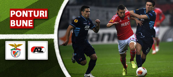 Benfica vs Alkmaar – Europa League – Analiza si pronostic