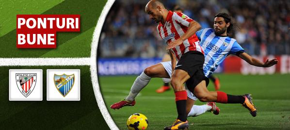 Bilbao vs Malaga – Primera Division – Analiza si pronostic