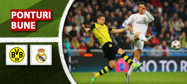 Dortmund vs Real Madrid – Liga Campionilor – Analiza si pronostic