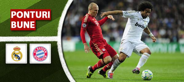 Real Madrid vs Bayern Munchen – Liga Campionilor – Analiza si pronostic