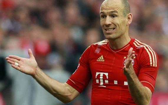 Robben critica stilul englezilor