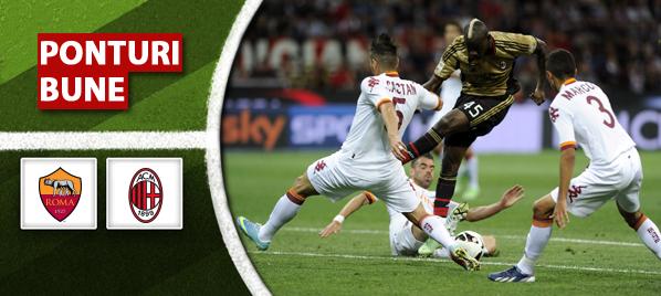 Roma vs Milan – Serie A – Analiza si pronostic