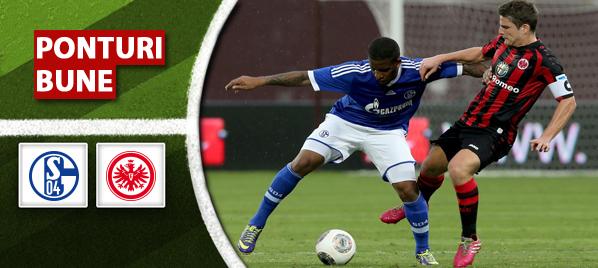Schalke vs Frankfurt – Bundesliga – Analiza si pronostic