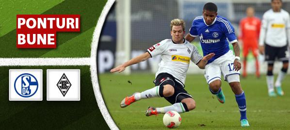 Schalke vs Moenchengladbach – Bundesliga – Analiza si pronostic