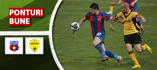 Steaua vs Brasov – Liga 1 – Analiza si pronostic
