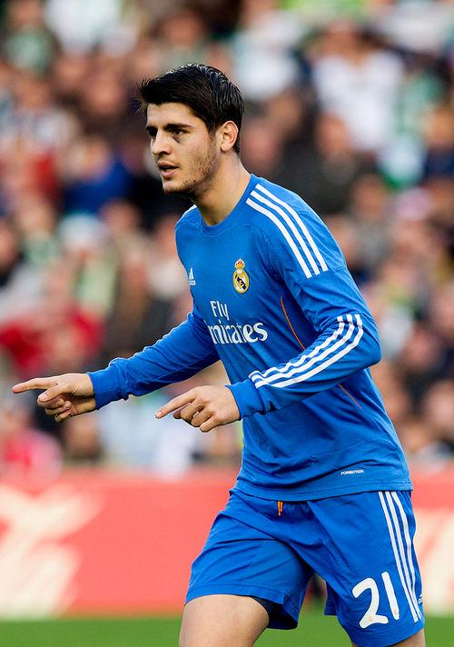 Alvaro Morata vrea la Arsenal
