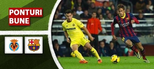 Villarreal vs Barcelona – Primera Division – Analiza si pronostic