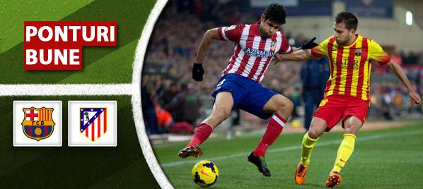 Barcelona vs Atletico Madrid – Primera Division – analiza si pronostic