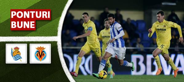 Sociedad vs Villarreal – Primera Division – analiza si pronostic