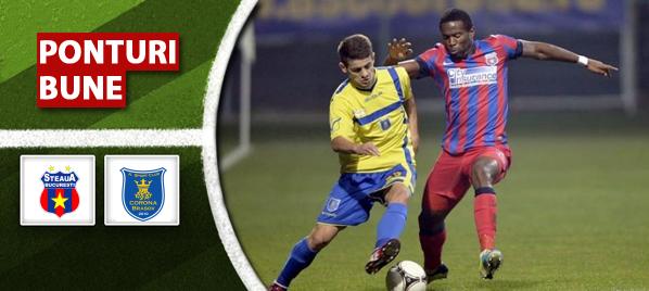 Steaua vs Corona Brasov – Liga 1 – Analiza si pronostic