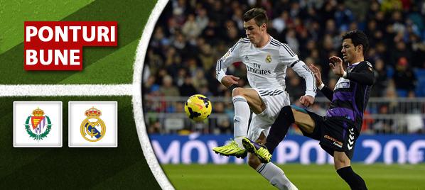 Valladolid vs Real Madrid – Primera Division – Analiza si pronostic