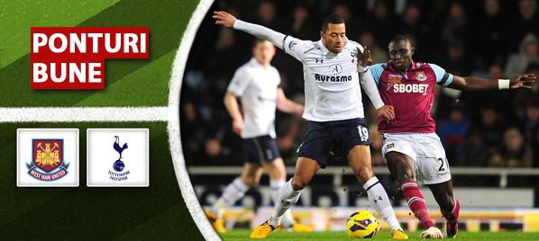 West Ham vs Tottenham – Premier League – Analiza si pronostic
