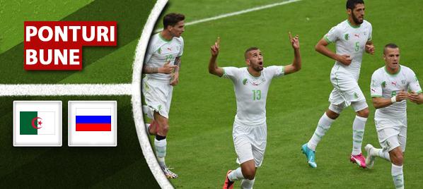 Algeria vs Rusia – Cupa Mondiala – analiza si pronostic – Soryn