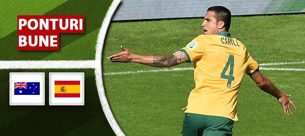 Australia vs. Spania – Cupa Mondiala – Analiza si pronostic – Sydu