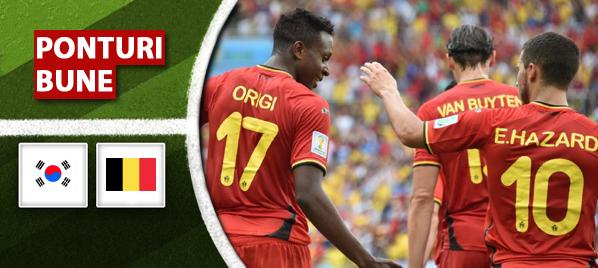 Coreea de Sud vs Belgia – Cupa Mondiala – analiza si pronostic – Soryn