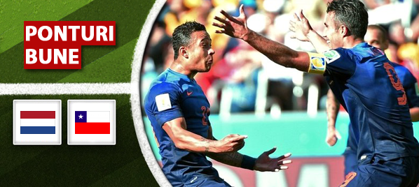 Rezumate Cupa Mondiala: Olanda – Chile 2-0