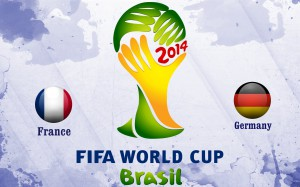 France Vs Germany FIFA World Cup 2014 Second Stage Wallpaper